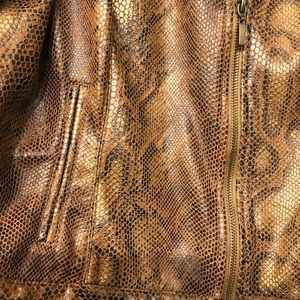 Ruby Rd. Jackets & Coats - Ruby Rd. Snakeskin Jacket